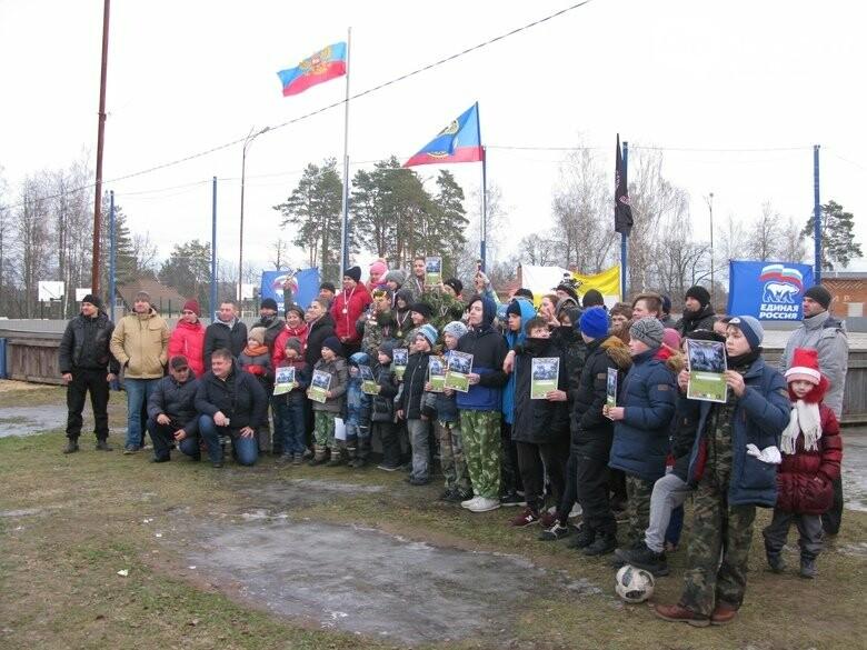 На карабановском стадионе прошли соревнования военно-патриотического направления, фото-20