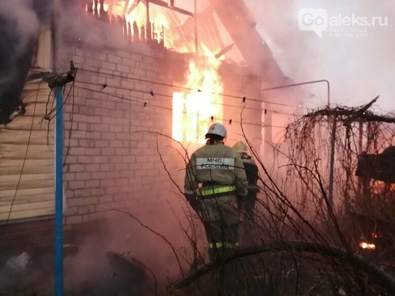 Пожар в Струнино, Пресс-служба МЧС 33 региона