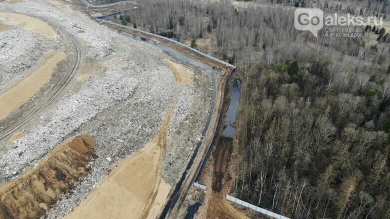 Остаточная вместимость Александровской свалки 41,5 тысяч тонн, фото-1