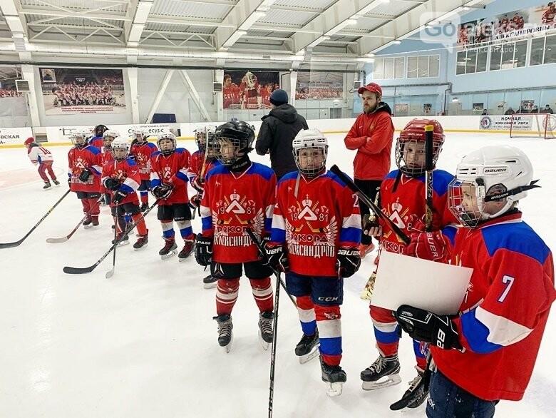 На Ледовой арене в Александрове завершился детский турнир по хоккею, фото-1