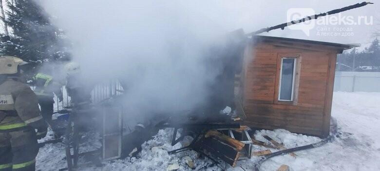 В Александровском районе случился очередной пожар, фото-2