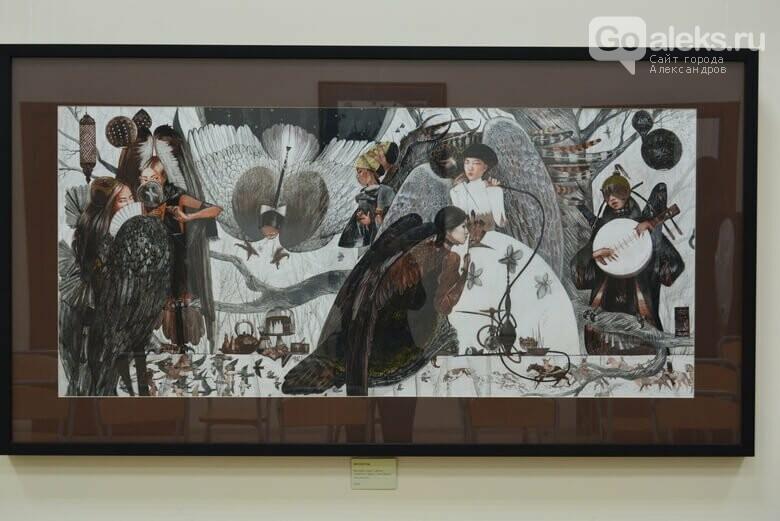 В Александрове состоялось открытие выставки молодой художницы из Хотьково, фото-18