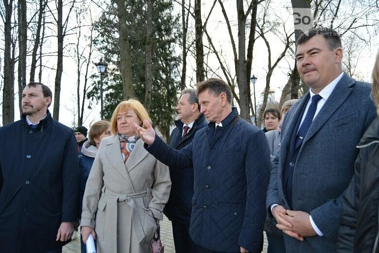 Губернатор Сипягин с рабочим визитом побывал в Александровском районе, фото-7, Goaleks.ru