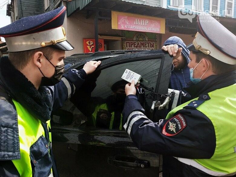 Выявление нарушений тонировки в Александрове, ГИБДД по Александровскому району