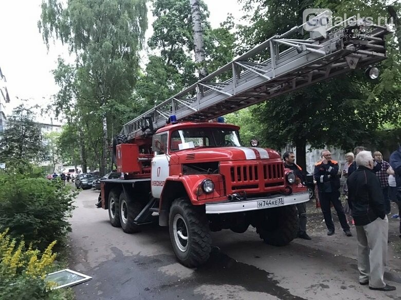 В Александрове сгорела кухня в многоквартирном доме, фото-1